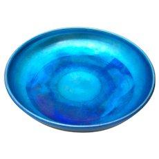 Tiffany Studios New York L.C.T. Favrile Blue Bowl