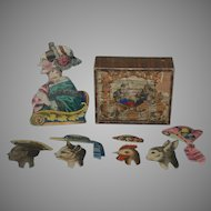 Biedermeier period game * the funny girl nodding head * germany at 1850-1860