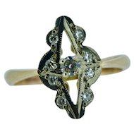 Victorian repro diamond ring