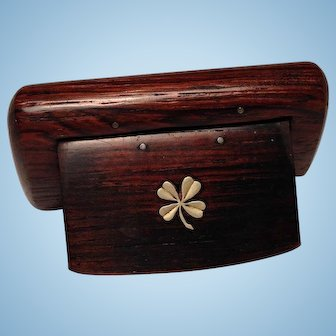 French Wooden Snuff Box