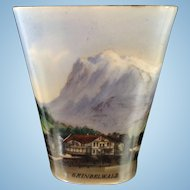 Small Vase with Lithopane from Grindelwald
