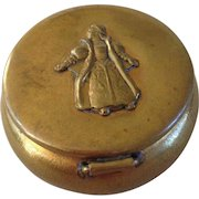 Brass Pill or Rosary Box