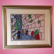 Wailing Wall Jerusalem Petit Point
