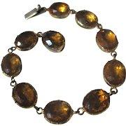 Antique Riviere Paste Bracelet ~ Georgian