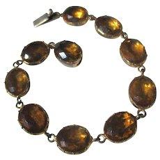 Shop Special ! Antique Riviere Paste Bracelet ~ Georgian