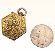 Vintage Miniature metal doll purse