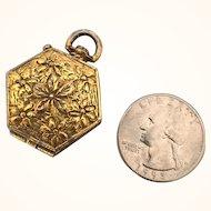 Vintage Miniature Goldette metal doll purse