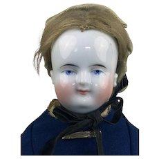 China head Beidermeier doll with original wig