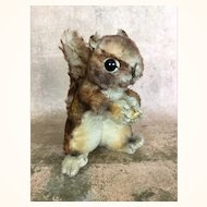 """Vintage mohair Steiff """"Perri"""" squirrel in largest size"""