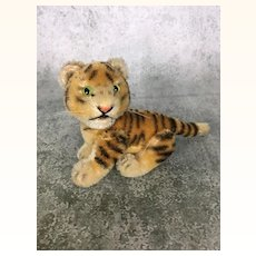 Steiff's smallest fully jointed tiger
