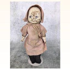 Vintage composition survivor doll is somehow still cute