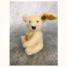 Tiny Steiff mohair teddy bear