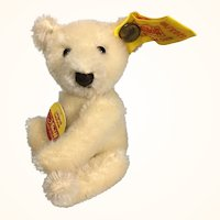 Tiny Steiff mohair teddy bear