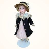Gebruder Heubach bisque head 8 inch girl doll
