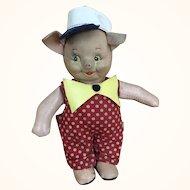 Vintage Three Little Piggies Doll by Krueger