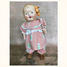 Rare walking composition doll