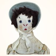 Vintage cloth folk art doll