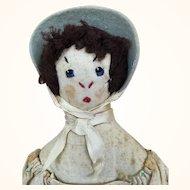 Vintage cloth folk art doll