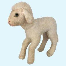 "Vintage Steiff Wool Plush ""Lamby"""