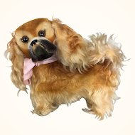 Vintage Steiff Peky Pekinese mohair dog