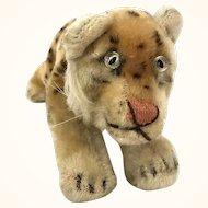 Steiff standing mohair leopard