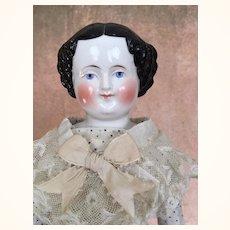 17 inch flattop China with Mona Lisa smile