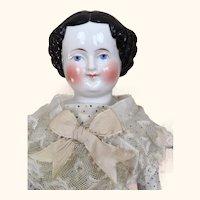 17 inch flattop China head doll