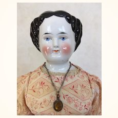 China doll with flattop hairstyle and original body