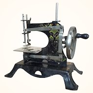 Antique miniature German sewing machine