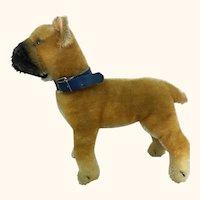 Steiff Boxer mohair dog