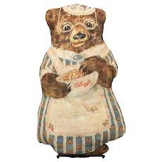 Kellogg's Advertising Cut and Sew Mama Bear