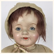 Vintage Ideal composition Mama Doll