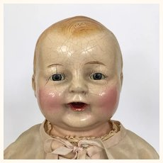 Vintage 14 inch Chuckles composition doll by Century Doll Co.