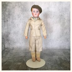 Antique and rare early Kling Boy doll