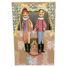 German Punch and Judy Puppet Stage