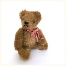 Steiff small mohair teddy bear, early 1950's