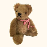 Steiff small mohair teddy bear, early 1950's