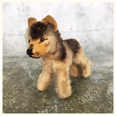 Steiff Mohair smallest German Shepherd puppy