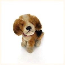 Vintage mohair beagle