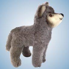 Steiff small mohair wolf pup