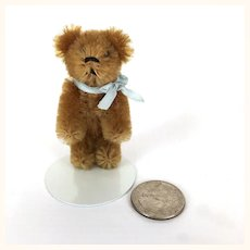 Antique miniature Schuco mohair Teddy Bear