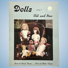 "Dollmaking Book ""Dolls Old and New"""