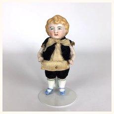 Dollhouse all bisque burly blonde boy