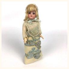 Rare Franz Schmidt doll in original Bebé outfit, minty!