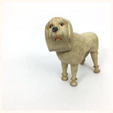 Schoenhut wooden circus poodle