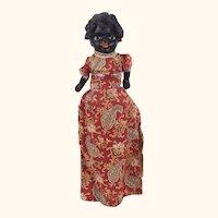 Antique Rare papier mache Topsy Turvy Dolls