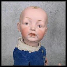 Hertel and Schwab bisque head character baby
