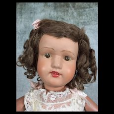 Schoenhut Miss Dolly with original curls and clothing