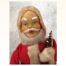 Vintage windup Christmas Santa