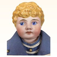 German bisque blonde sailor boy by Kling in minty condition